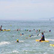 レース直前の海の泳ぎに慣れる!KITAJIMAQUATICSスイムレッスン(5/6館山・北条海岸)