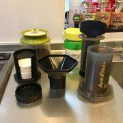 AERO PRESS:コーヒー好きトライアスリートのエスプレッソマシーン。