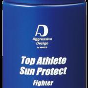 """塗り直しのいらないSPF50+/PA++++の日焼け止め「Top Athlete Sun Protect """"Fighter""""」"""