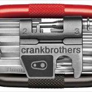 これ一つで工具はOK 新型ツール「マルチシリーズ」の新色ブラック/レッドが登場(crankbrothers)