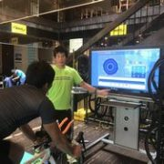 KONA10回出場コーチが指導する、「コンピュートレーナー」によるペダリング解析(10/23東京)