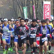2017あづまデュアスロンin福島(11/12福島)ランはフラット、バイクも緩い坂道で走りやすい♪