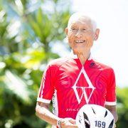 85歳のアイアンマン・レジェンド稲田弘さんが「めざましテレビ」に登場
