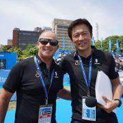 BS朝日「スポーツクロス」にトライアスロンの歴史に残る1枚の写真が登場!(6/29放送)
