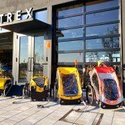 【12/25まで】TREX<虎ノ門/川崎>で自転車用ベビーカー試乗会 子どもと一緒に安全ライドを